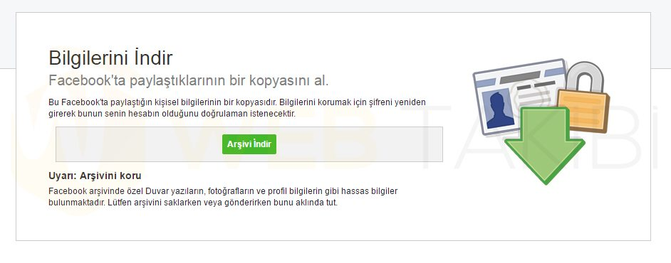 facebook-arşiv-nasıl-indirilir