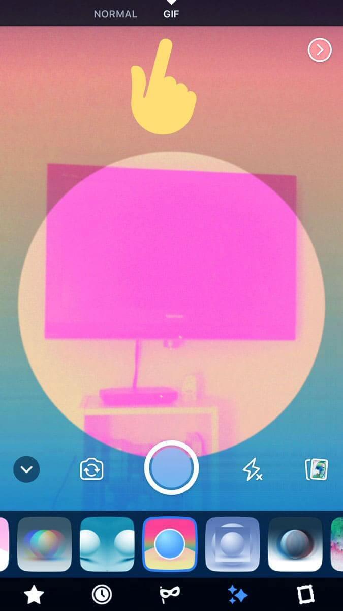 Facebook GIF oluşturma özelliği