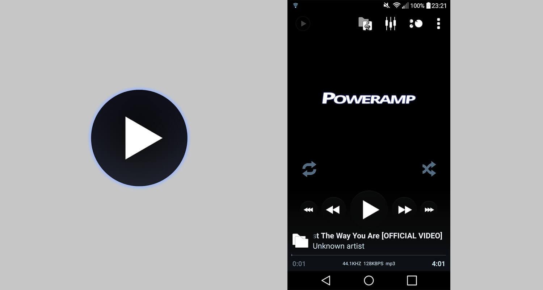 Poweramp müzik çalar uygulaması