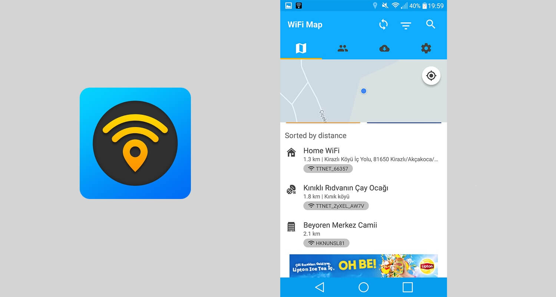 WiFi Map bedava internet erişimi