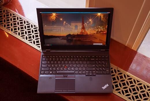 LenovoThinkPad P70 video düzenleme