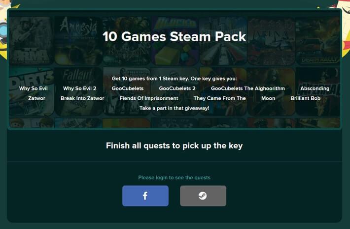 Ücretsiz Steam random key babanagiveaway
