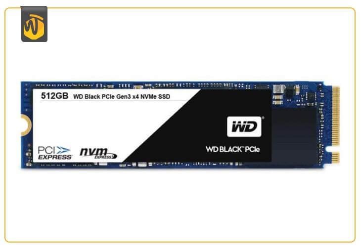 En iyi M.2 SSD: WD Black PCIe SSD