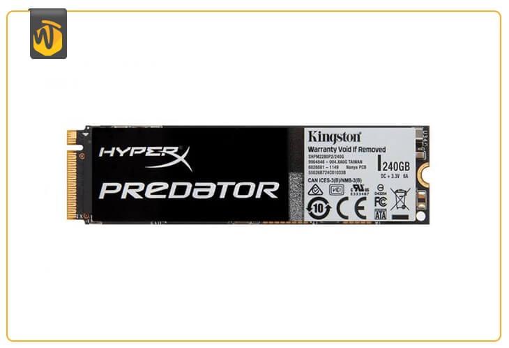 En iyi oyuncu SSD: Kingston HyperX Predator
