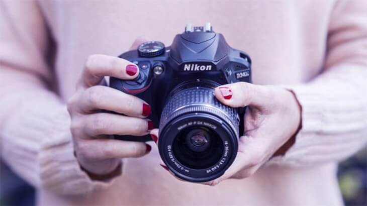 Nikon D3400 en iyi dijital kameralar