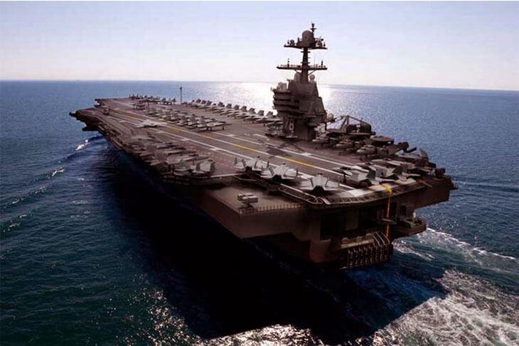Dünyanın en pahalı askeri araçları CVN-78 Class Aircraft Carrier