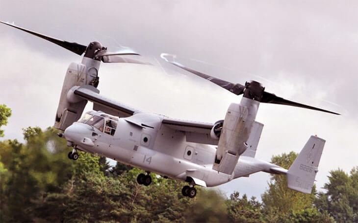 Dünyanın en pahalı askeri araçları V-22 Osprey