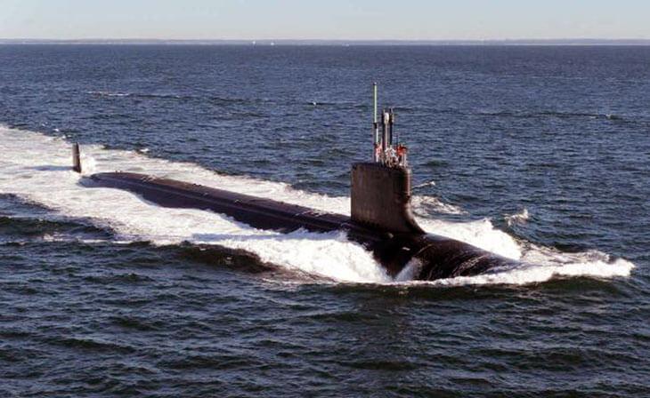 Dünyanın en pahalı askeri araçları Virginia Class Submarine