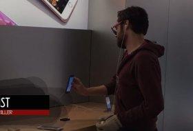 Apple Canavarı, Apple Store'daki Cihazları Teker Teker Parçaladı!