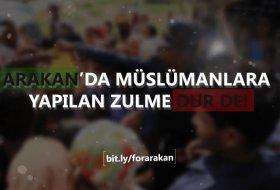 Arakan'da ki Zulüm İçin İmza Kampanyası Başlatıldı