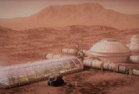BAE 2117'de Mars'ta bir Şehir Kurmak İstiyor