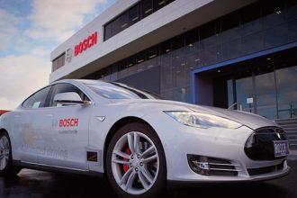Bosch otonom araç için çalışmalara başladı