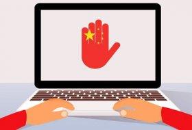 Çin'de 3 yıl içerisinde 13.000 site sansürlendi