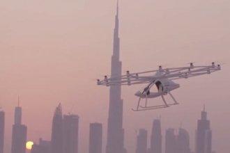 Dubai, uçan taksi servisini test etmeye başladı