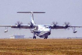 Dünyanın en büyük amfibi uçağı ilk uçuşunu tamamladı