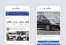 Facebook Marketplace bünyesinde araba satışı başladı