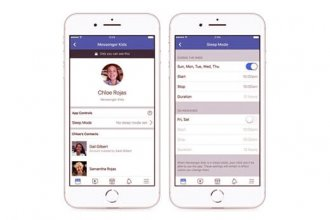 """Facebook Messenger çocuklar için """"Uyku Modu"""" getirdi"""