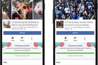 Facebook Doğum Gününüzde Bağış Toplamanızı Sağlıyor