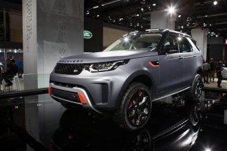 Goodyear'dan Land Rover Discovery SVX'ın konsept lastikleri