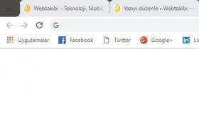 Google Chrome Materyal tasarım nasıl kullanılır?