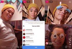 Instagram'a arkadaşlarınızla birlikte canlı yayın özelliği geldi