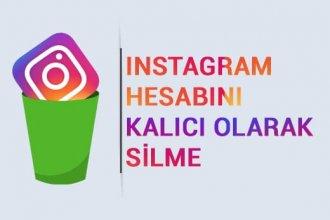 Instagram hesabı silme nasıl yapılır? Telefondan kalıcı silme