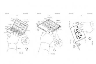 Microsoft'un ortaya çıkan patenti, katlanabilir çift ekrana sahip