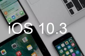iOS 10.3 Güncellemesi Geldi
