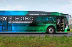Proterra otobüsü tek şarj ile 1.600 kilometre giderek rekor kırdı