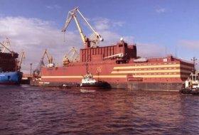 Rusya, dünyanın ilk yüzen nükleer santralini tamamladı