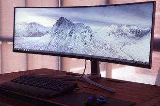 Samsung 49 inç büyüklüğünde oyun monitörü yaptı