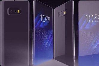 Yeni Samsung Galaxy S9 Konsepti, Dört Kameralı ve 4K Ekranlı
