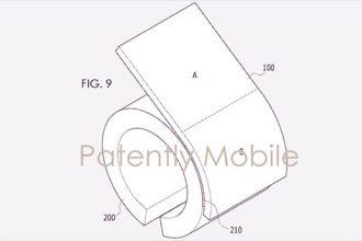 Samsungbükülebilir ekran patentini aldı