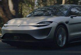 Sony VISION-S elektrikli otomobil konseptini tanıttı