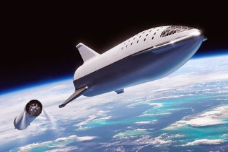 SpaceX Starship aracının ilk ticari uçuşunu 2021'de planlıyor