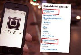 Twitter üzerinden Uber'e binlerce destek geldi!