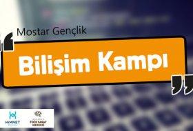 Mostar Gençlik Bilişim Kampı Başlıyor