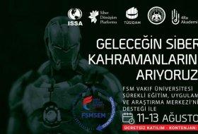 FSM Vakıf Üniversitesi Siber Güvenlik Kampı Düzenliyor!