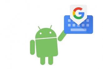 Gboard Klavye Artık Android'te