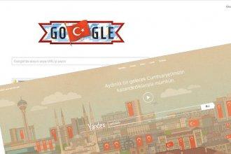 Yandex ve Google 29 Ekim'i Unutmadı!
