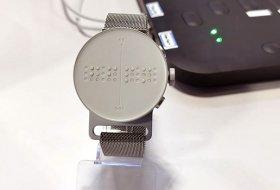 Görme engelliler için akıllı saat tasarlandı