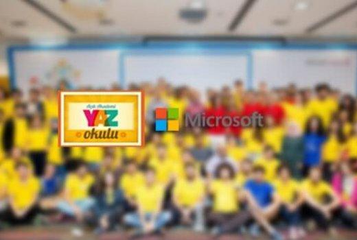 Microsoft Türkiye Yaz Okulu İçin Başvurular Başladı