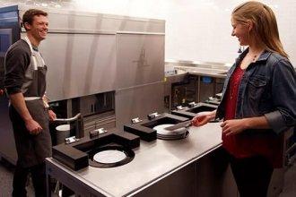 Büyük hacimli mutfakların yeni gözdesi: Bulaşık yıkama robotu