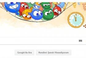 Google'dan Yılbaşına Özel Doodle